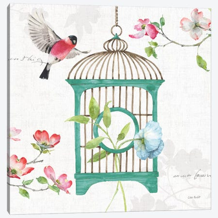 Dogwood Garden VII Canvas Print #UDI47} by Lisa Audit Canvas Wall Art