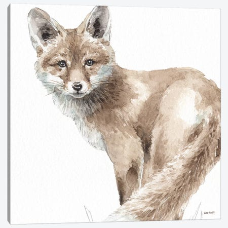 Forest Friends V Canvas Print #UDI57} by Lisa Audit Art Print