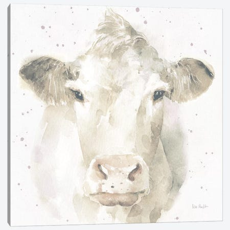Farm Friends II v2 Neutral Canvas Print #UDI59} by Lisa Audit Canvas Art