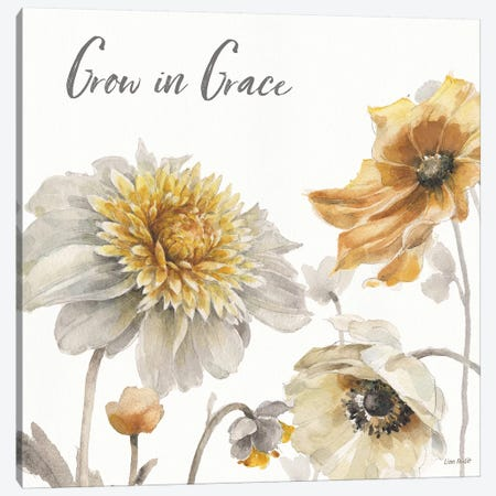 Fields of Gold II Grace Canvas Print #UDI61} by Lisa Audit Art Print