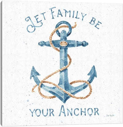 Nautical Life IV No Stripes Canvas Art Print