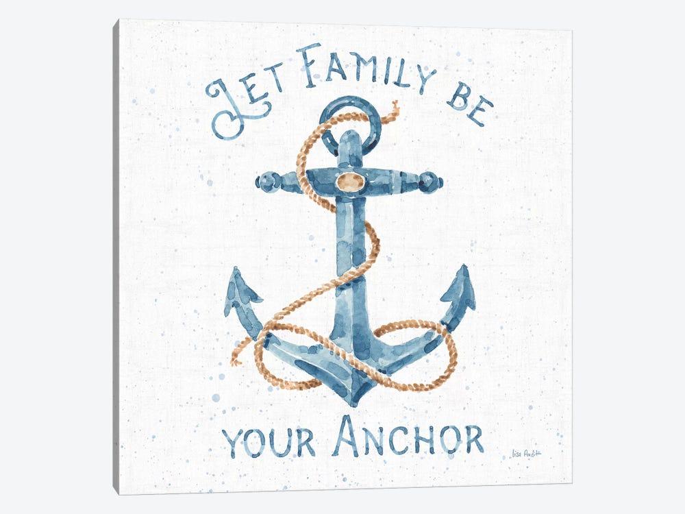 Nautical Life IV No Stripes by Lisa Audit 1-piece Art Print