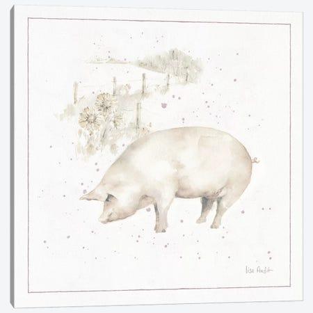 Farm Friends IX Canvas Print #UDI7} by Lisa Audit Canvas Wall Art