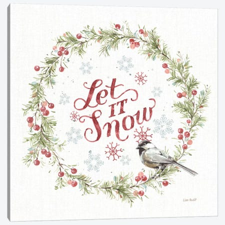 A Christmas Weekend VII Canvas Print #UDI96} by Lisa Audit Canvas Art Print
