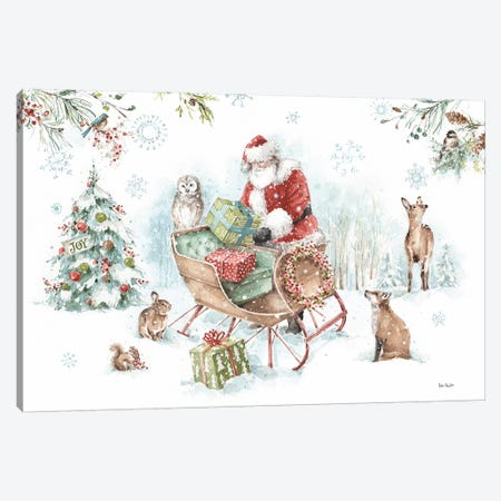 Magical Holidays I Canvas Print #UDI98} by Lisa Audit Canvas Art
