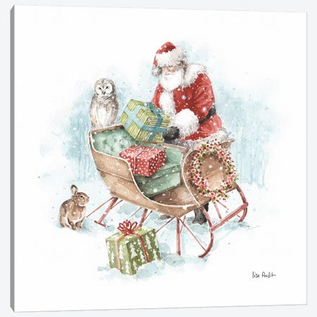 Magical Holidays II Canvas Print #UDI99} by Lisa Audit Canvas Artwork