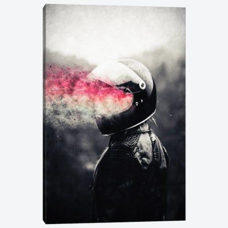 Retro Rider Canvas Print #UDT116} by Underdott Art Canvas Art