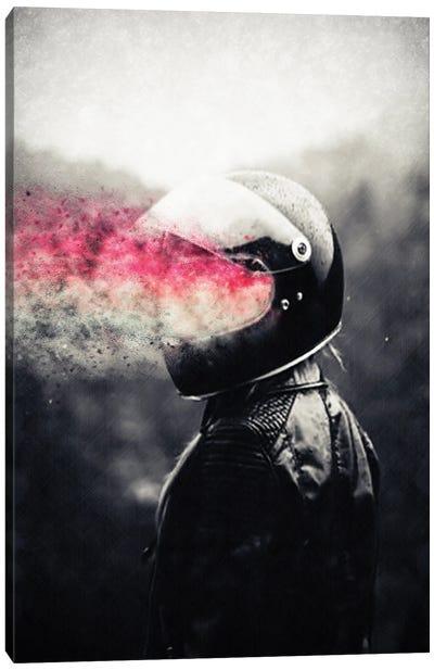 Retro Rider Canvas Art Print