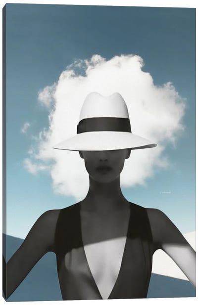 Beauty And The Cloud Canvas Art Print
