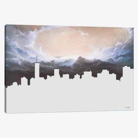 Silhouette Canvas Print #UDT121} by Underdott Art Canvas Art