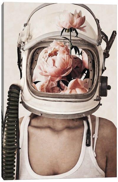 Space Bloom Canvas Art Print