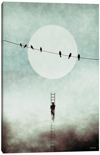 Stairway To Freedom Canvas Art Print