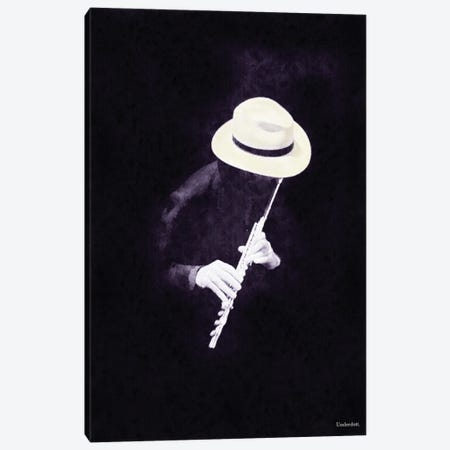 The Musician Canvas Print #UDT133} by Underdott Art Canvas Art Print