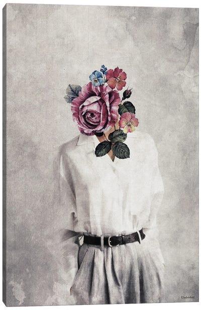Vintage Bloom Canvas Art Print