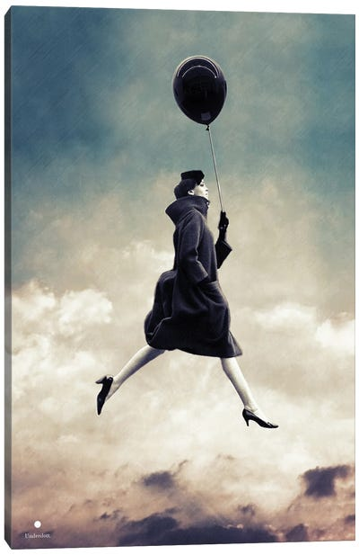 Walking On Clouds Canvas Art Print