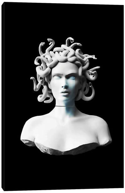 Decontructed Medusa Canvas Art Print