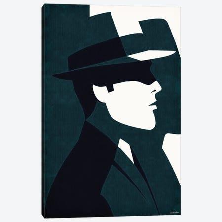 Detective Canvas Print #UDT38} by Underdott Art Canvas Print