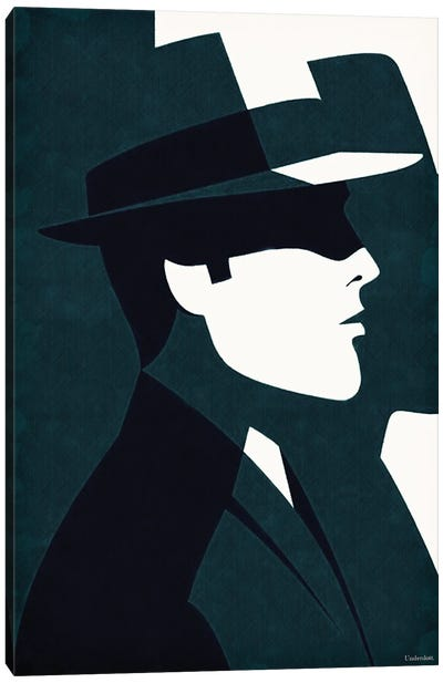 Detective Canvas Art Print