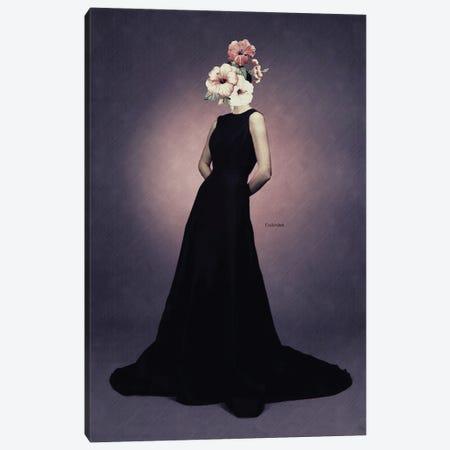 Flower Girl Canvas Print #UDT51} by Underdott Art Canvas Print