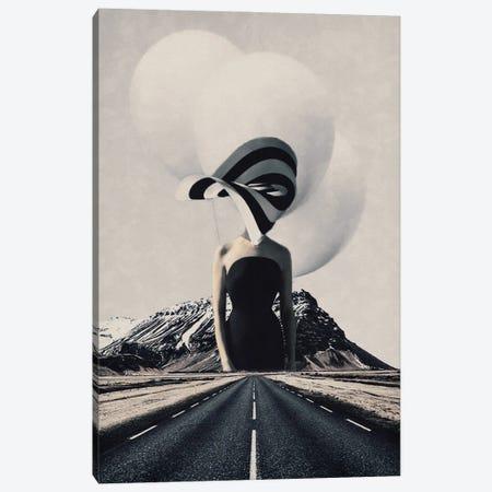 Future Lies Canvas Print #UDT55} by Underdott Art Canvas Artwork