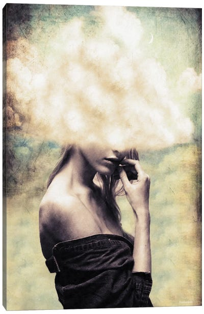Head In The Clouds Canvas Art Print