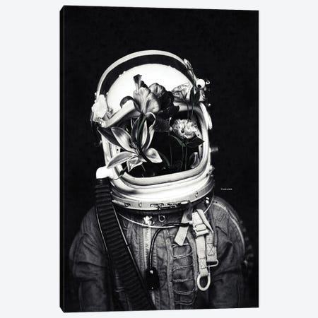 Astronauts And Flowers Canvas Print #UDT6} by Underdott Art Canvas Art