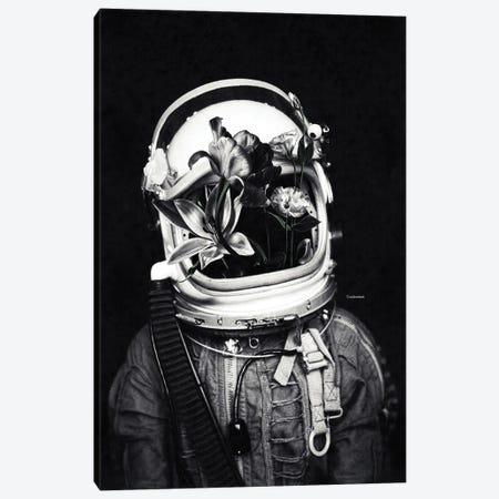 Astronauts And Flowers Canvas Print #UDT6} by Underdott Art Canvas Art