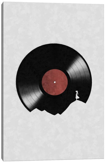 In The World Of Music Canvas Art Print