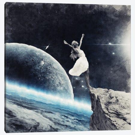 Leap Of Faith Canvas Print #UDT76} by Underdott Art Canvas Art