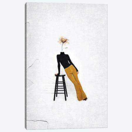 Like A Flower Canvas Print #UDT82} by Underdott Art Canvas Artwork