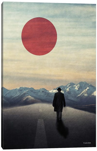 Lonely Road Canvas Art Print