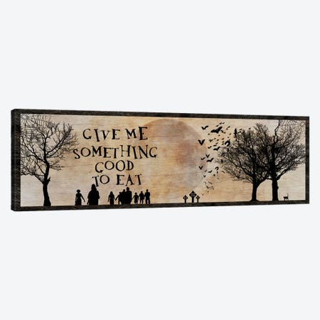 Give Me Something Good To Eat Canvas Print #UET1} by 5by5collective Canvas Art