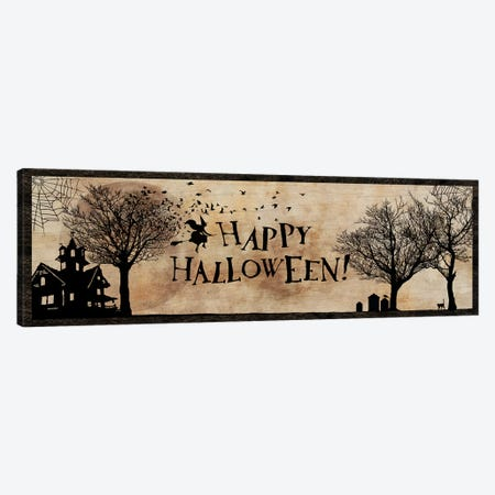 Happy Halloween Canvas Print #UET2} by 5by5collective Canvas Wall Art