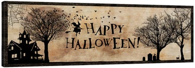 Happy Halloween Canvas Print #UET2