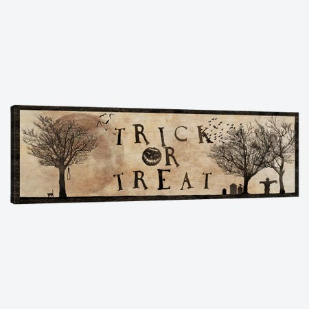 Trick Or Treat Canvas Print #UET5} by 5by5collective Art Print