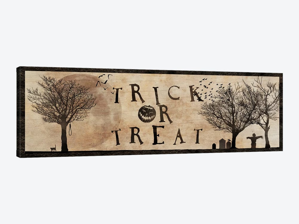 Trick Or Treat by 5by5collective 1-piece Canvas Wall Art
