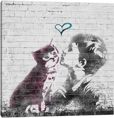 Let me Kiss Canvas Print #ULE11