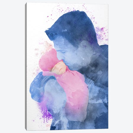 My Dear Girl Canvas Print #ULE17} by 5by5collective Canvas Wall Art