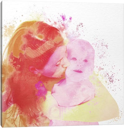 Motherly Love Canvas Print #ULE18