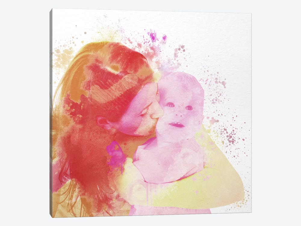 Motherly Love by 5by5collective 1-piece Art Print