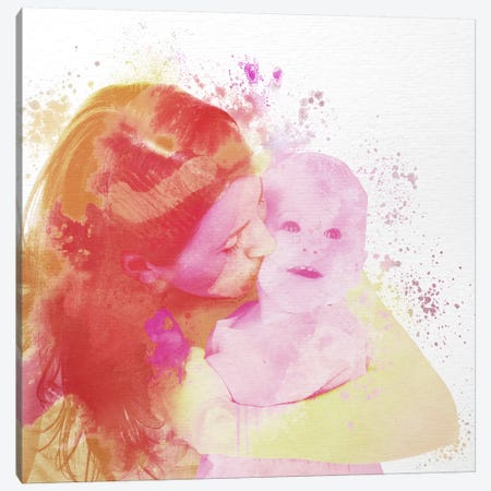 Motherly Love Canvas Print #ULE18} by 5by5collective Art Print