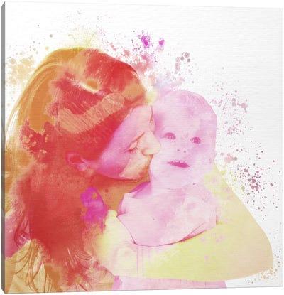 Motherly Love Canvas Art Print