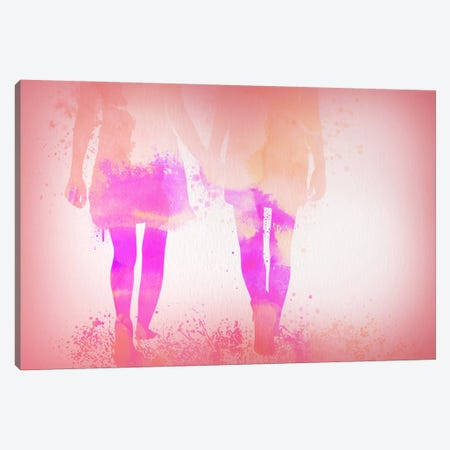 Growing Love Canvas Print #ULE19} by 5by5collective Canvas Art Print