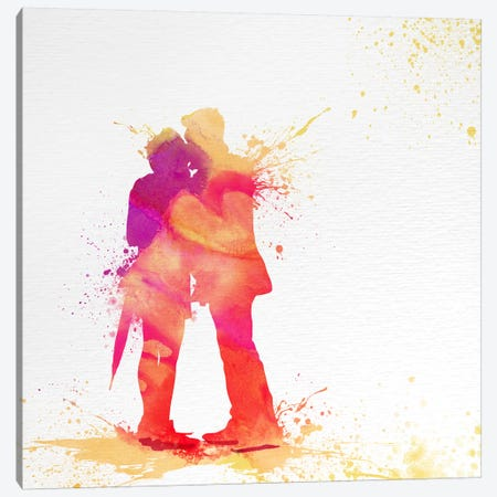 Sentimental Love Canvas Print #ULE20} by 5by5collective Canvas Artwork