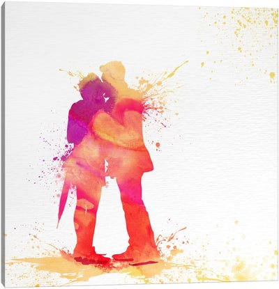 Sentimental Love Canvas Art Print