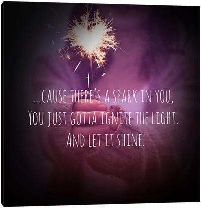 Let it Shine Canvas Art Print
