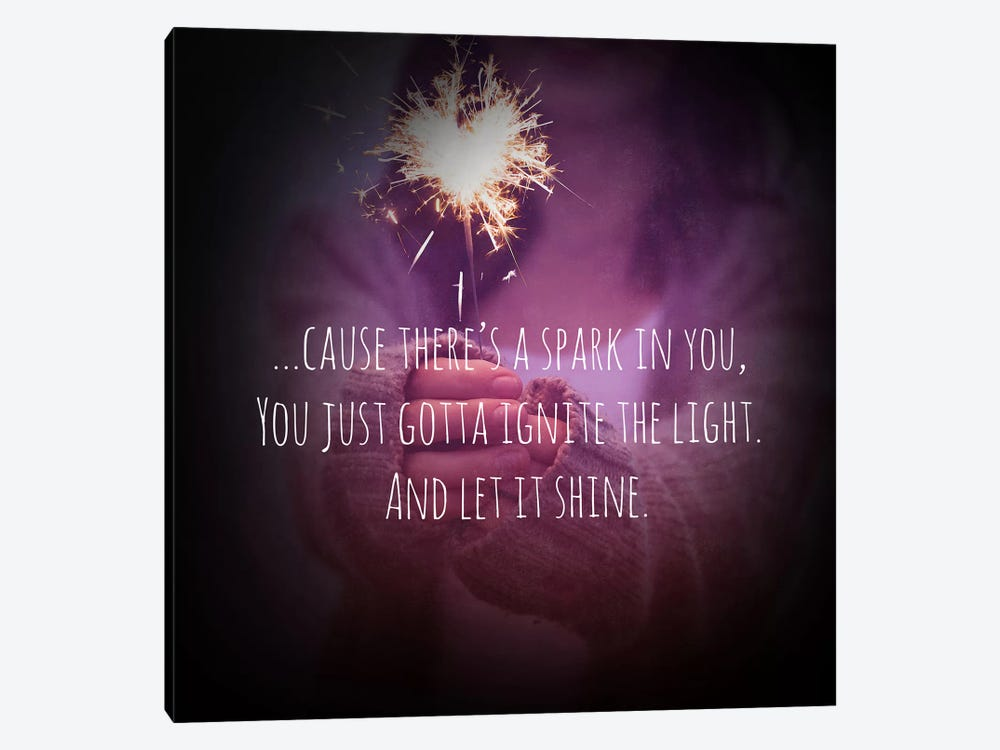 Let it Shine by 5by5collective 1-piece Canvas Print