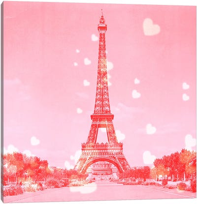 Sweet Paris Canvas Art Print
