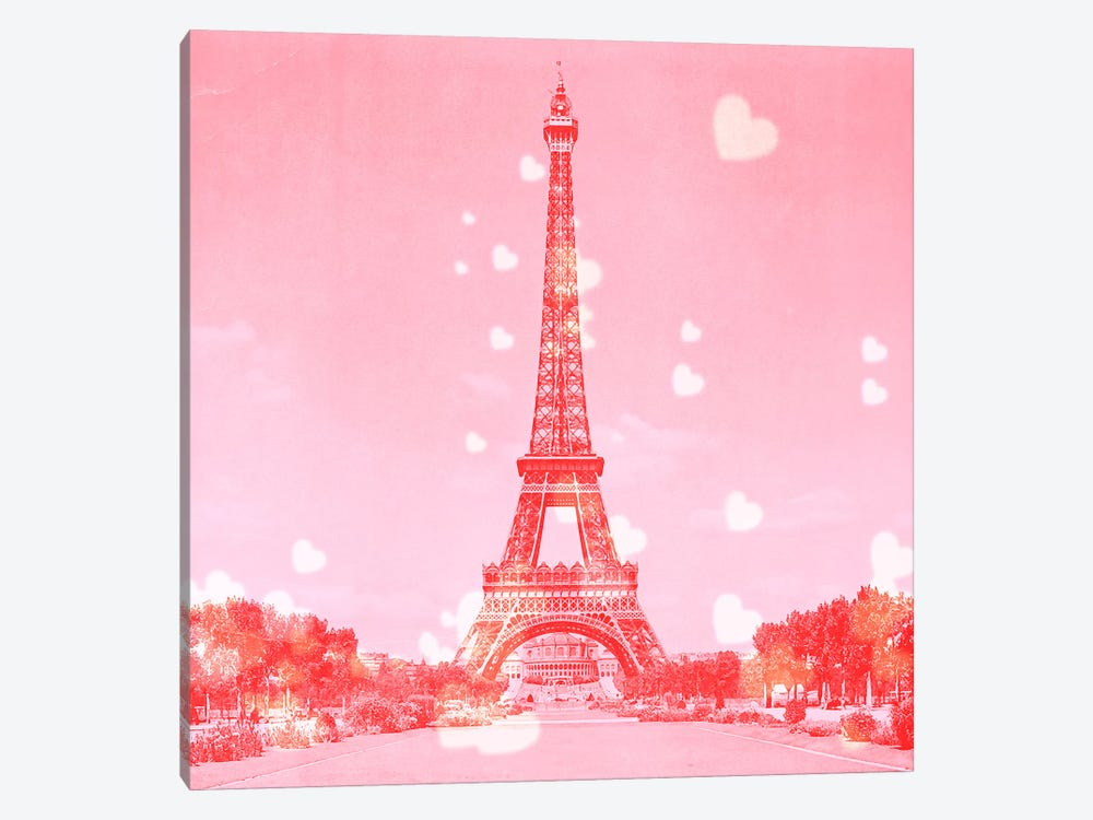 Sweet Paris by 5by5collective 1-piece Canvas Print