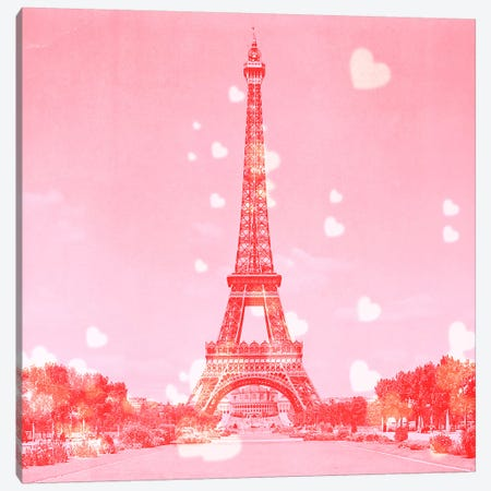 Sweet Paris 3-Piece Canvas #ULE7} by 5by5collective Canvas Wall Art